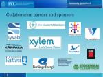 collaboration partner and sponsors