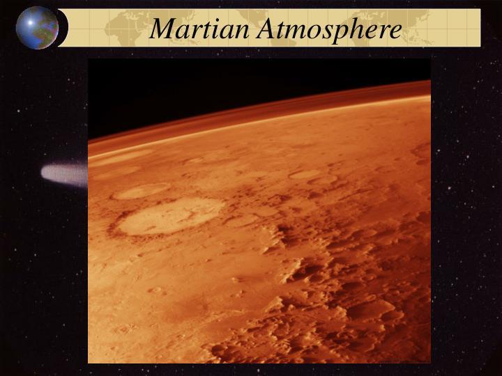 Martian Atmosphere
