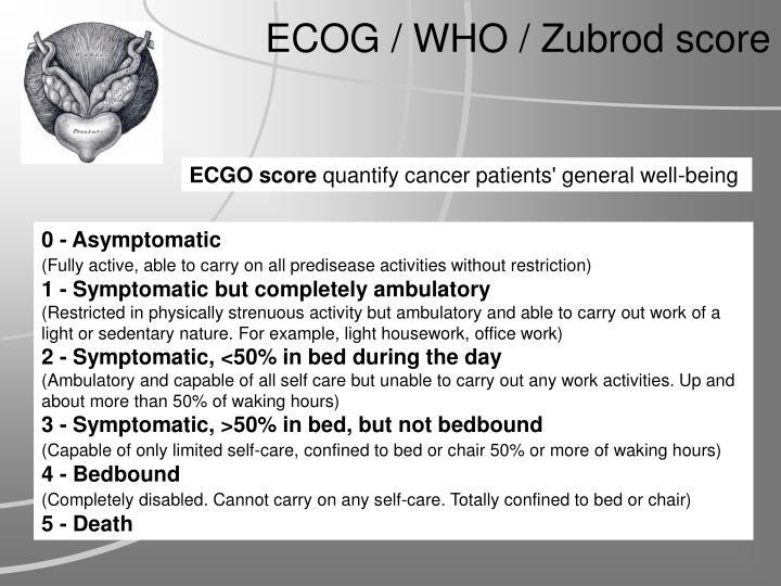ECGO score