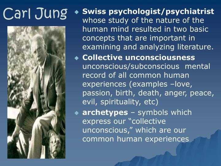 Swiss psychologist/psychiatrist
