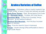 arabica varieties of coffee