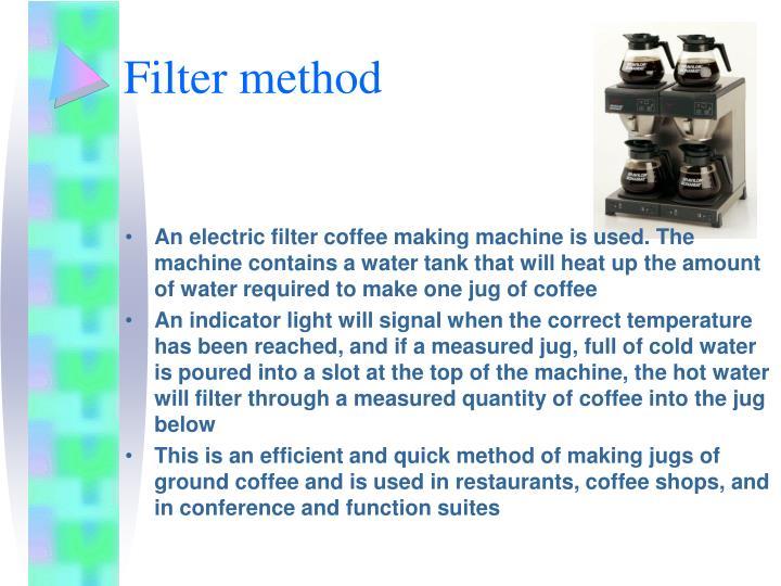 Filter method