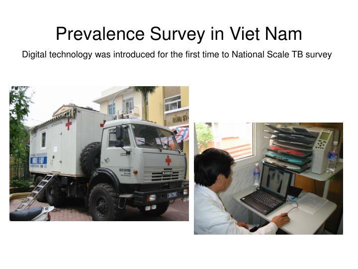 Prevalence Survey in Viet Nam