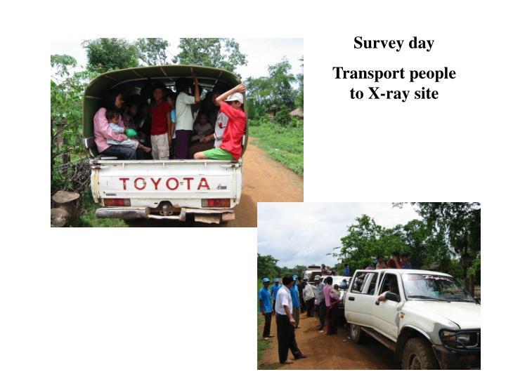 Survey day
