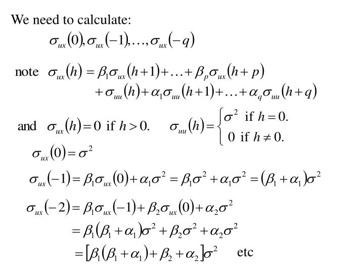 We need to calculate: