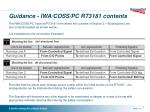 guidance iwa coss pc rt3181 contents