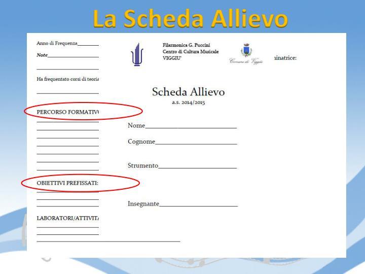 La Scheda Allievo
