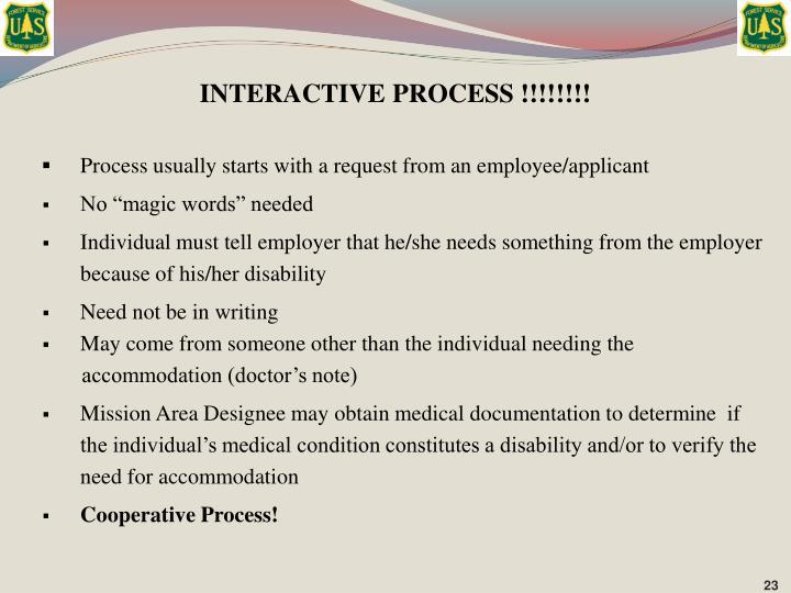 INTERACTIVE PROCESS !!!!!!!!