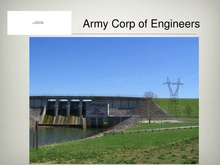Army Corp of Engineers