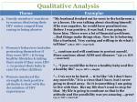 qualitative analysis1