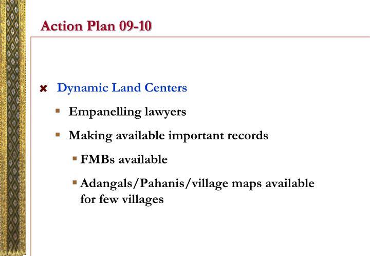 Action Plan 09-10