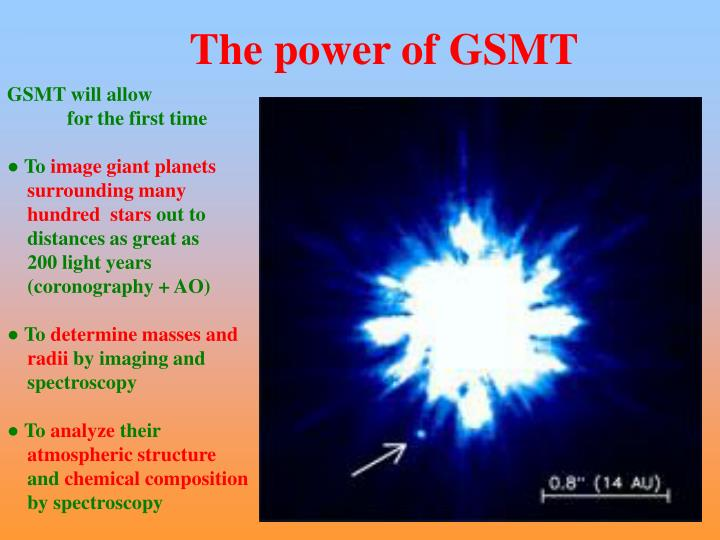 The power of GSMT