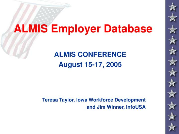 almis employer database