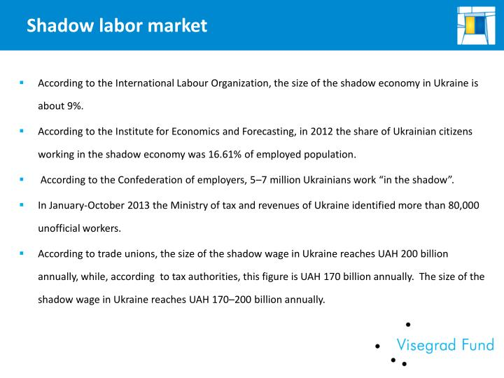 Shadow labor market