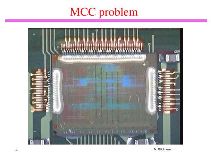 MCC problem