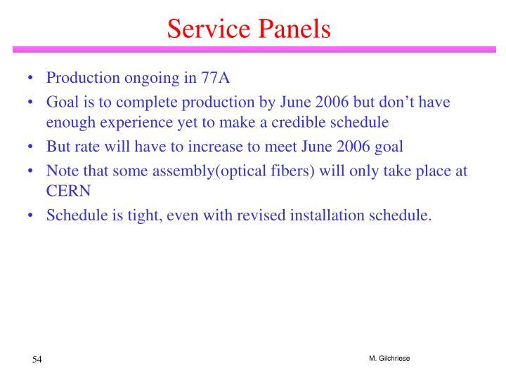 Service Panels