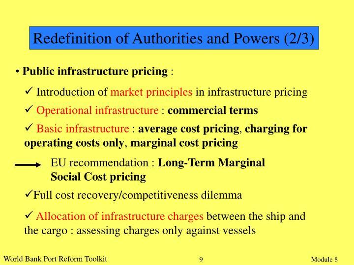 EU recommendation :