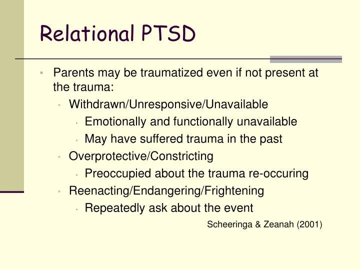 Relational PTSD