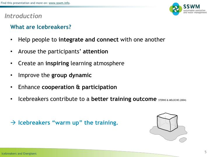 What are Icebreakers?