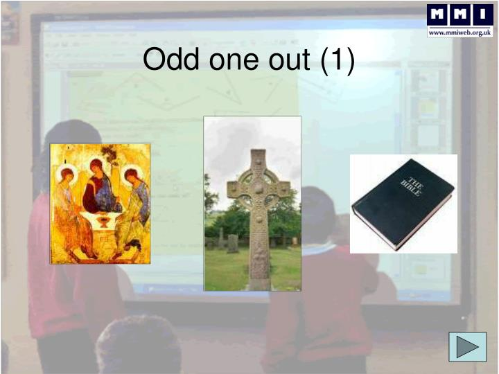 Odd one out (1)