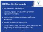 o m plan key components1