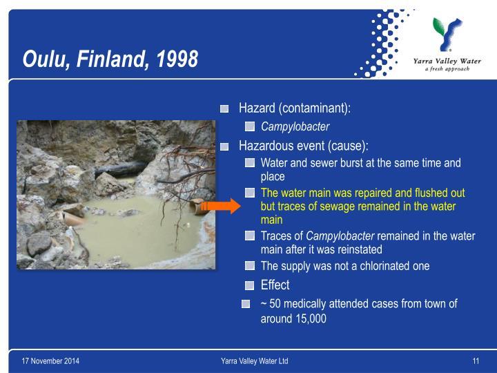 Oulu, Finland, 1998