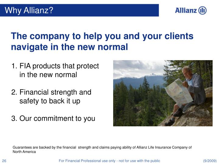 Why Allianz?