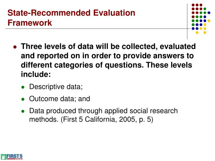 State-Recommended Evaluation Framework