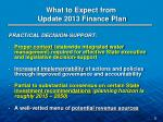 what to expect from update 2013 finance plan2