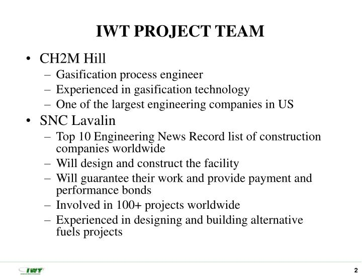 Iwt project team1