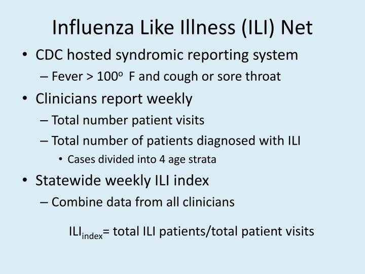 Influenza Like Illness (ILI) Net