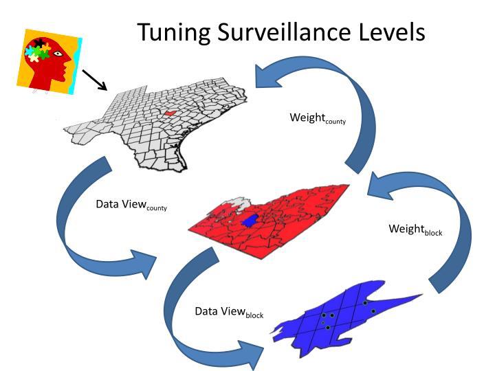 Tuning Surveillance Levels