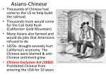 asians chinese