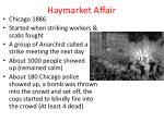 haymarket affair