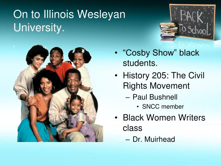 On to Illinois Wesleyan University.