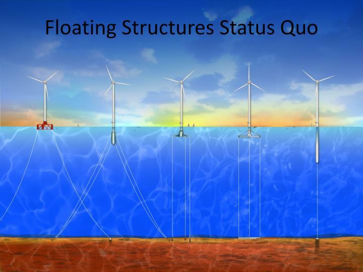 Floating Structures Status Quo