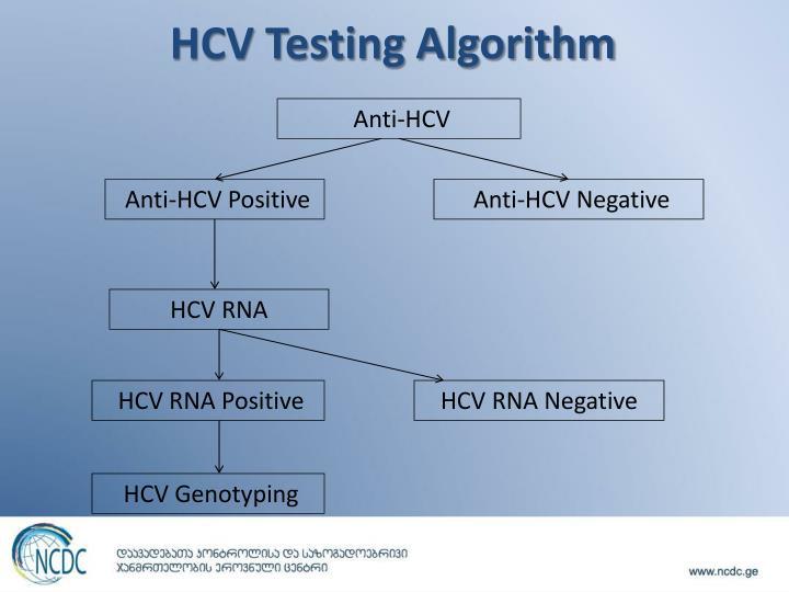 HCV Testing Algorithm