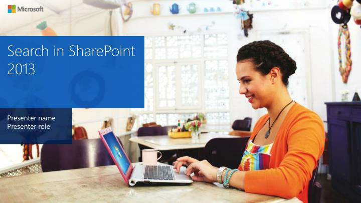 search in sharepoint 2013
