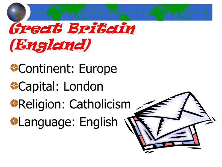 Great Britain (England)