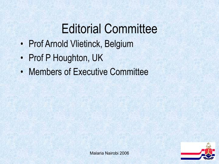 Editorial Committee