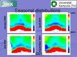 seasonal distributions1