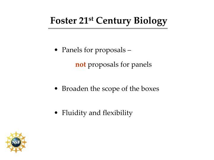 Foster 21