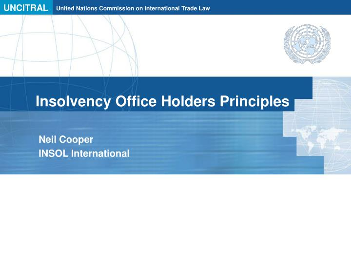 insolvency office holders principles