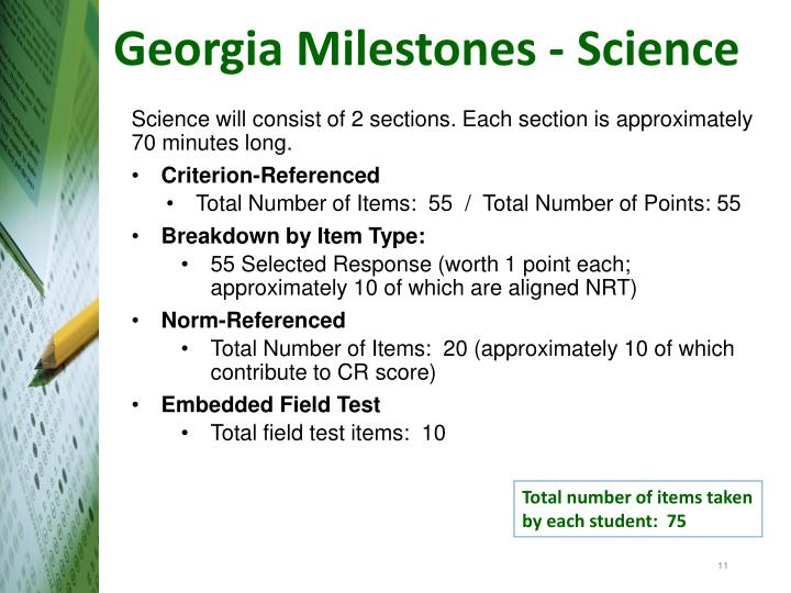 Georgia Milestones - Science