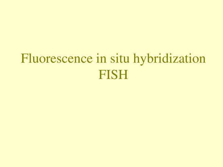 Fluorescence in situ hybridization