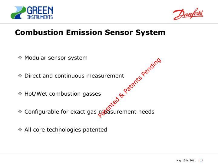 Combustion Emission Sensor System
