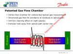 patented gas flow chamber