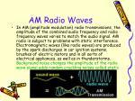am radio waves