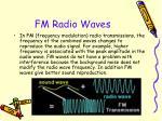 fm radio waves