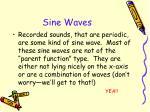 sine waves